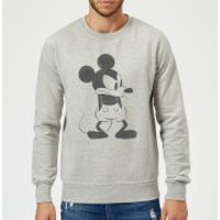 Disney Mickey Mouse Angry Sweatshirt - Grey - L - Grey
