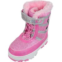 Disney Minnie Mouse Girls' Winter Boots  - pink, 12 toddler