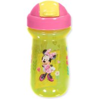 Disney Minnie Mouse Straw Cup  - yellow/fuchsia